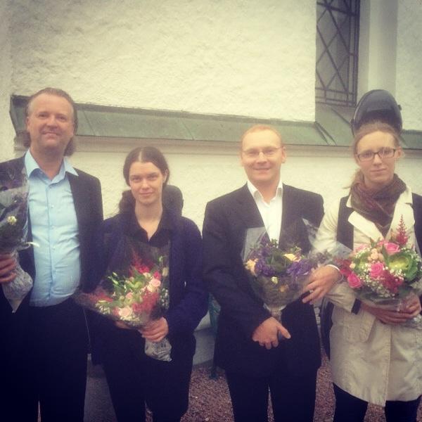 Alekvartetten, Björnekulla kyrka 2014