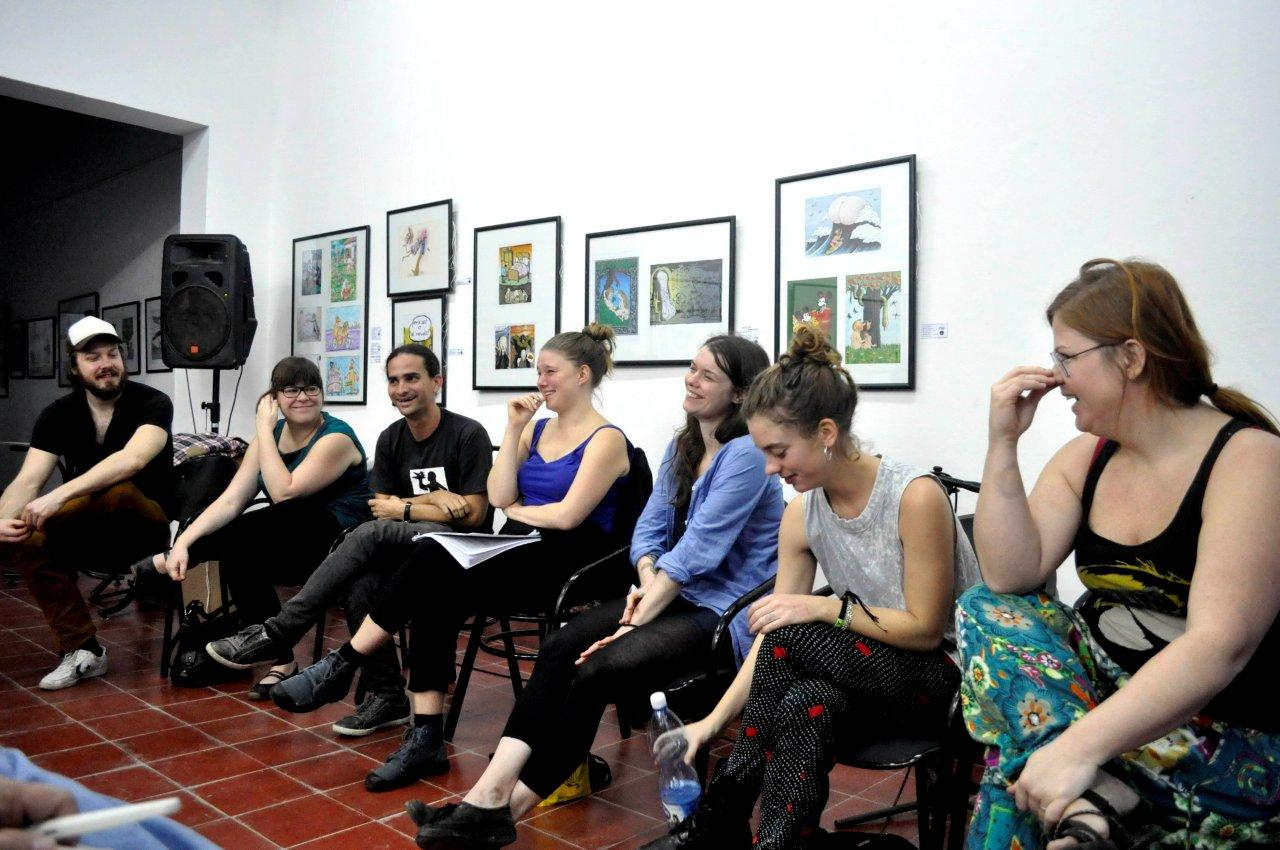 Artistsamtal Implodera Scenkonst Kuba