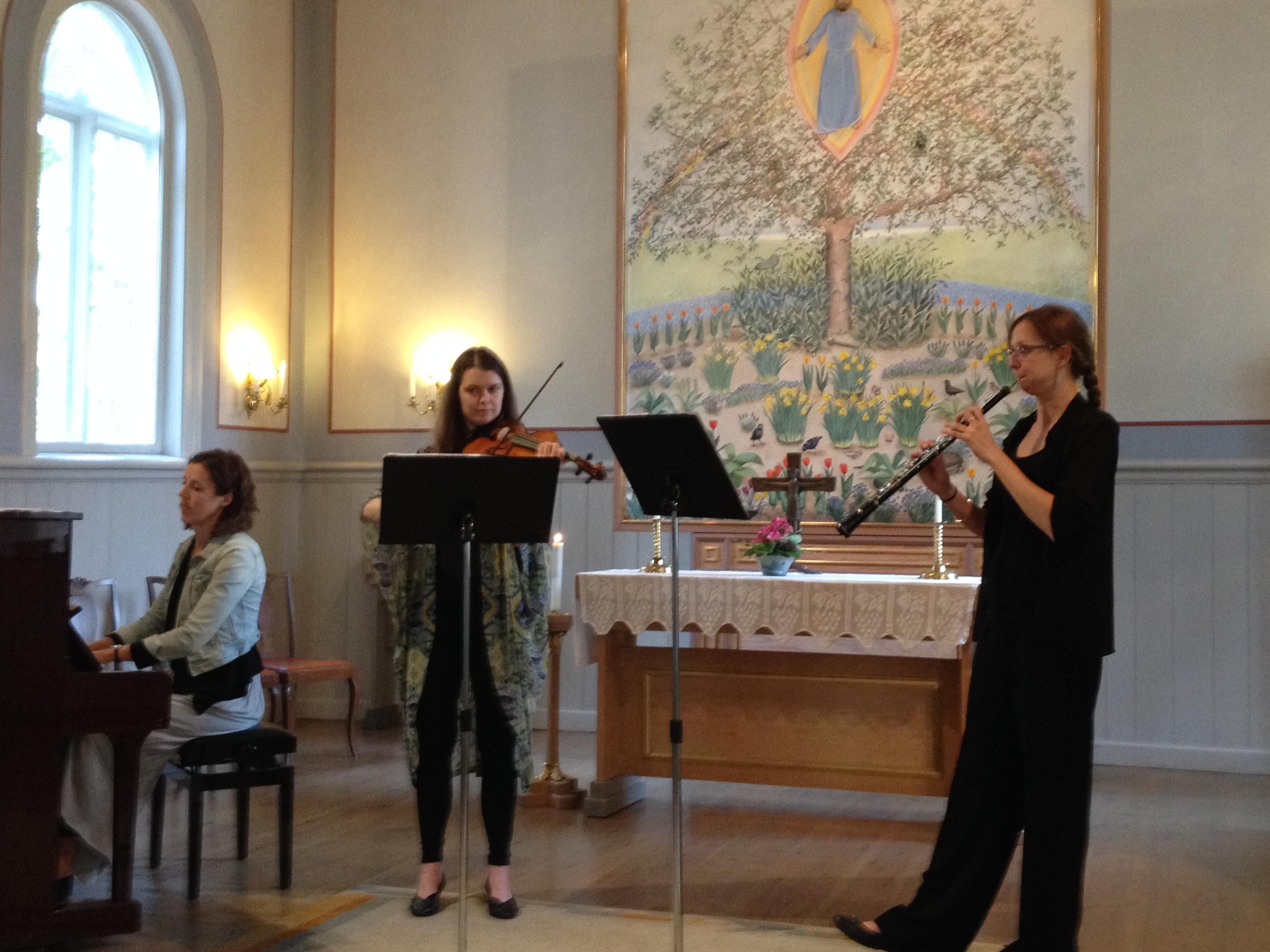 Trio Chapman Slottskapellet Jonkoping augusti 2015