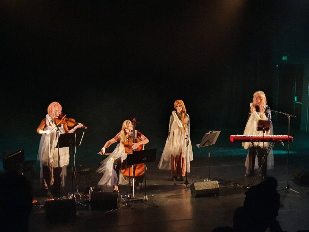 The Swans premiärspelning Göteborgs Kulturkalas aug 2021